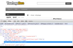 产品页面breadcrumb 最后一个节点添加span标签
